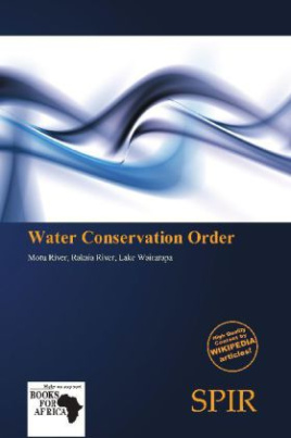 Water Conservation Order