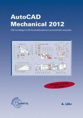 AutoCAD Mechanical 2012, m. CD-ROM
