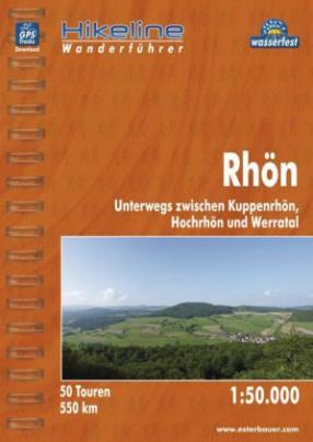 Hikeline Wanderführer Rhön
