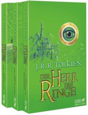 Der Herr der Ringe, 3 Bde. (Grüne Ausgabe)