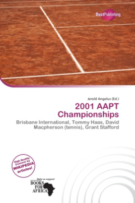 2001 AAPT Championships