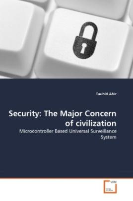 Security: The Major Concern of civilization