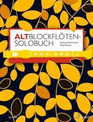 Altblockflöten-Solobuch