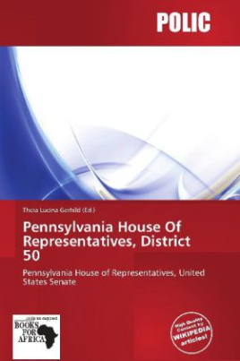 Pennsylvania House Of Representatives, District 50