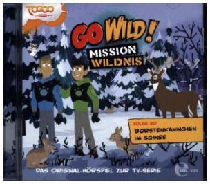 Go Wild! - Mission Wildnis - Borstenkaninchen im Schnee, 1 Audio-CD
