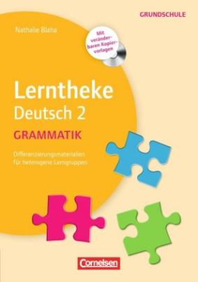 Lerntheke Deutsch 2: Grammatik, m. CD-ROM