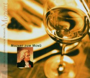 Mozart zum Menü