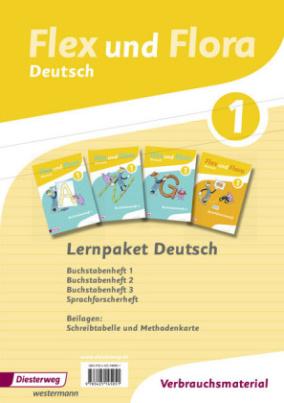 Lernpaket Deutsch 1 (Verbrauchsmaterial), 4 Hefte