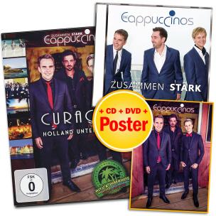 Die Cappuccinos - Zusammen stark - Paket + EXKLUSIV Poster