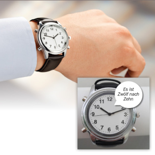 Sprechende Armbanduhr