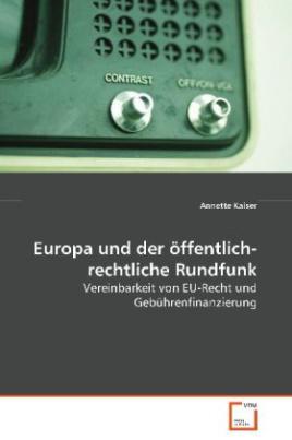 Europa und der öffentlich-rechtliche Rundfunk