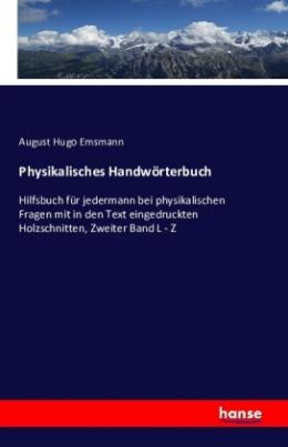 Physikalisches Handwörterbuch