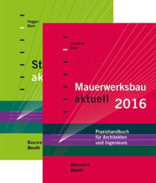 Stahlbetonbau aktuell 2016 + Mauerwerksbau aktuell 2016, 2 Bde.