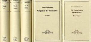 Hahnemanns Werk im Paket, 5 Bde.