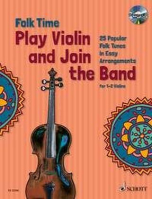 Folk Time Violin, 1-2 Violinen, m. Audio-CD. Bd.1