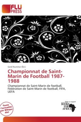 Championnat de Saint-Marin de Football 1987-1988