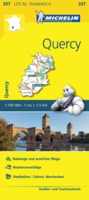 Michelin Karte Quercy