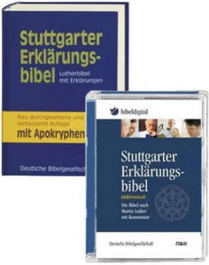 Stuttgarter Erklärungsbibel, m. CD-ROM