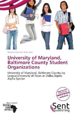 University of Maryland, Baltimore County Student Organizations