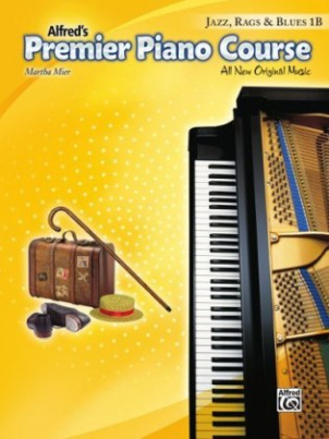 Premier Piano Course: Jazz, Rags & Blues Book 1B