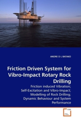 Friction Driven System for Vibro-Impact Rotary Rock Drilling