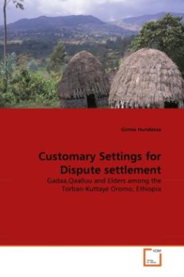 Customary Settings for Dispute settlement