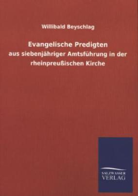Evangelische Predigten