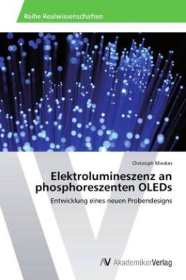 Elektrolumineszenz an phosphoreszenten OLEDs