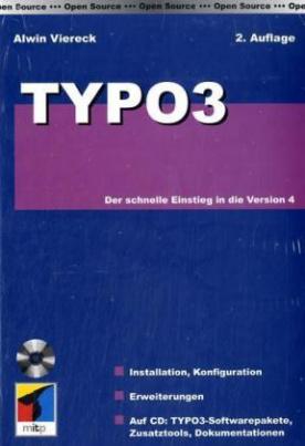 Typo3, m. CD-ROM
