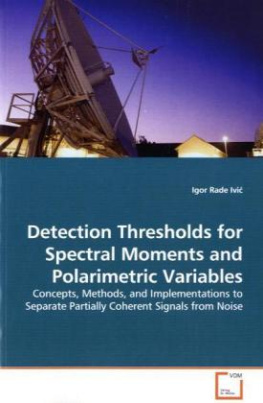 Detection Thresholds for Spectral Moments and Polarimetric Variables