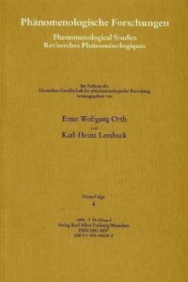 Phänomenologische Forschungen, Neue Folge. Bd.4/2