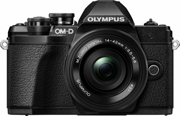 "OLYMPUS Systemkamera ""E-M10 Mark III"" (16,1 Megapixel, 14-42 Pancake Zoom Kit EZ)"