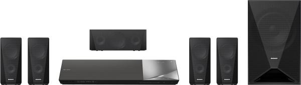 "SONY Soundsystem ""BDV-N5200W"" (3D-Surround Sound, Blu-ray Player)"