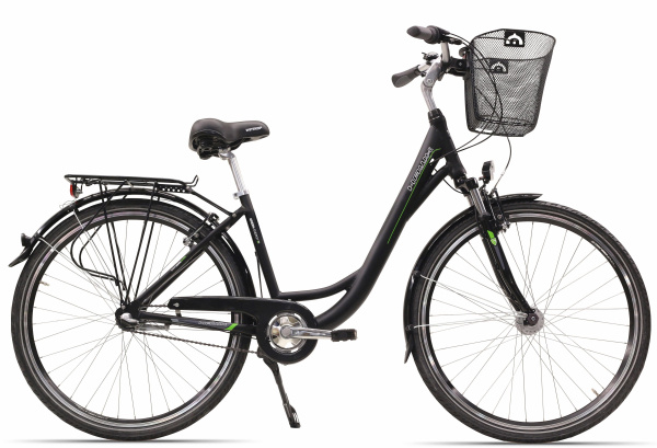 "HAWK City Fahrrad ""Green City Wave"" (28 Zoll, 3 Gänge, Damen)"