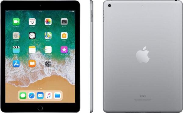 """APPLE Tablet """"iPad"""" (9,7 Zoll, Wi-Fi, 128 GB, 6. Generation, grau)"""