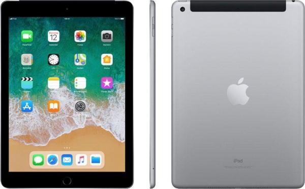 "APPLE Tablet ""iPad"" (9,7 Zoll, Wi-Fi + Cellular, 32 GB, 6. Generation, grau)"