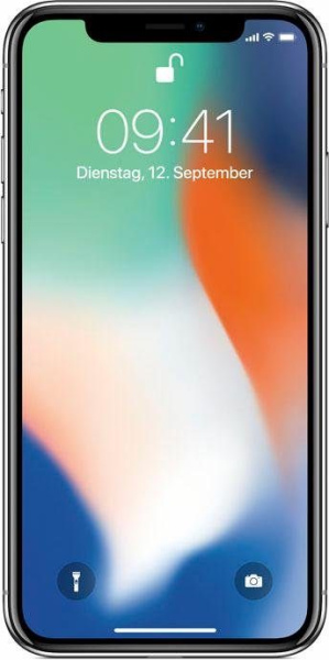 "APPLE Smartphone ""iPhone X"" (64 GB, silberfarben)"