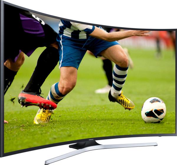 "SAMSUNG Fernseher ""UE55MU6279"" (55 Zoll, Curved, 4K Ultra-HD, LED, Smart-TV)"