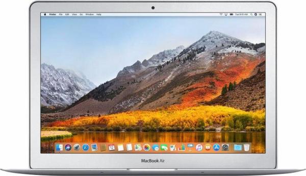 """APPLE Notebook """"MacBook Air"""" (Intel Core i5, 13 Zoll, 8 GB RAM, 128 GB SSD, silberfarben)"""
