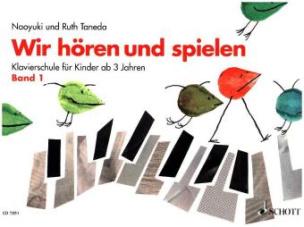 Wir hören und spielen, Klavier. Bd.1