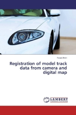 Registration of model track data from camera and digital map