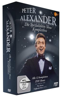 Die Peter Alexander Spezialitäten Show - Komplettbox