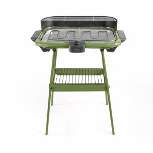 Barbecue-Elektro-Grill grün
