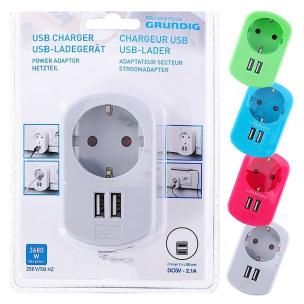 USB-Zwischenstecker mit 2 Anschlüssen GRUNDIG