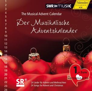 Der Musikalische Adventskalender (rot)