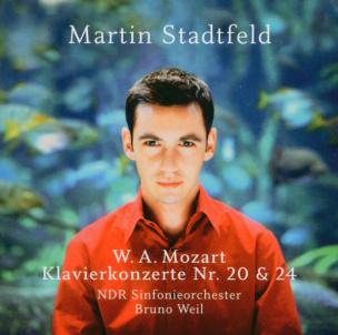 Martin Stadtfeld / W. A. Mozart: Klavierkonzerte (CD)