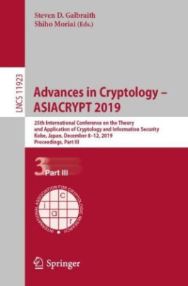 Advances in Cryptology - ASIACRYPT 2019
