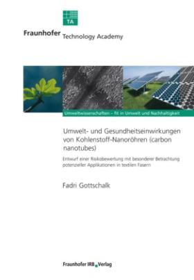 Umwelt- und Gesundheitseinwirkungen von Kohlenstoff-Nanoröhren (carbon nanotubes).