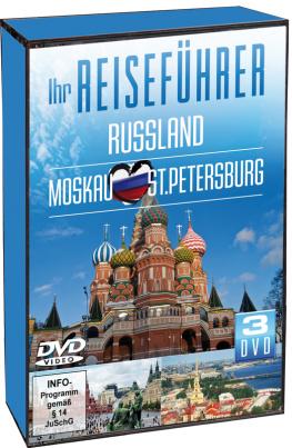 Russland - Moskau - St.Petersburg