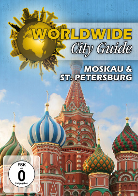 Worldwide City Guide - Moskau & St. Petersburg (DVD)